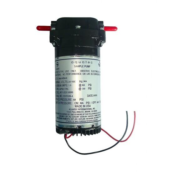 Integral booster pump,...